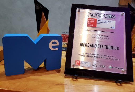 Great Place to Work 2018 Mercado Eletrônico