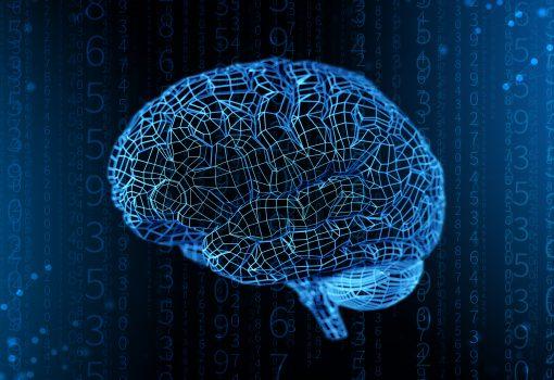 Cérebro representando a maturidade digital com a consciência
