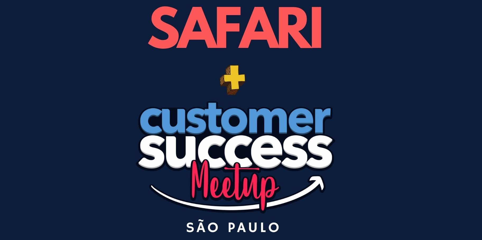 Logo Meetup Customer Success + 2º Safari benchmarking SP
