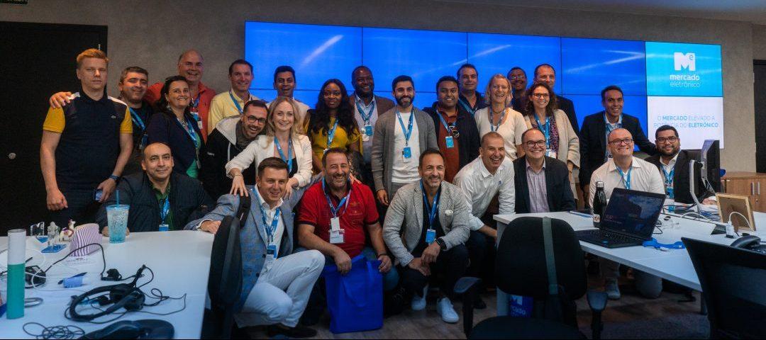 Mercado Eletrônico recebe a visita de 37 executivos de grandes empresas do mundo