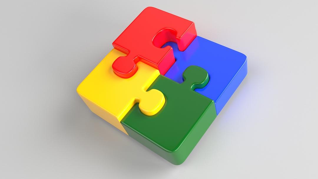 Quebra-cabeça representa os quatro pilares do e-procurement